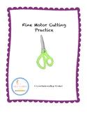Cutting Practice: Fine Motor Activities for Scissor Practice