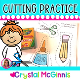 Cutting Practice Pack (Beginning of Kindergarten Scissor Practice)