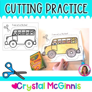 It's just an image of Gratifying Printable Cutting Practice