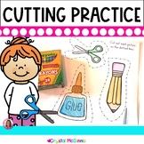 Cutting Practice Pack (Beginning of Kindergarten Scissor Practice)