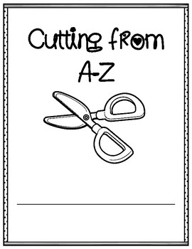 Cutting Practice: Pictures from A-Z