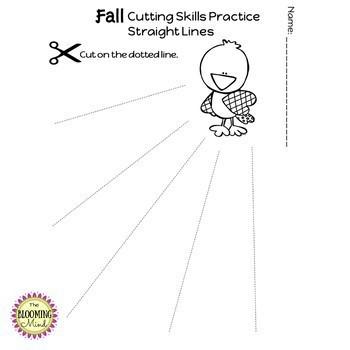 Cutting Practice Scissor Skill Worksheets {MEGA BUNDLE}