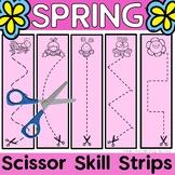 Scissor Skills {Spring Fine Motor Bin}
