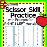 Cutting Practice Scissor Skills Worksheets