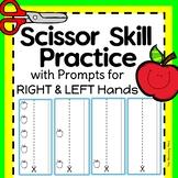 Cutting Practice Scissor Skill Strips