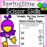 Cutting Practice Worksheets {Spring}