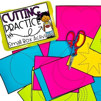 Cutting Practice Set 2: Small Box Activities