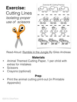 Cutting Practice Sheet