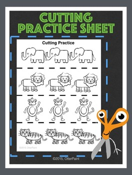 Cutting Practice Sheet