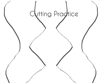 Cutting Practice Sheets