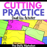 Cutting Practice: Small Box Activities