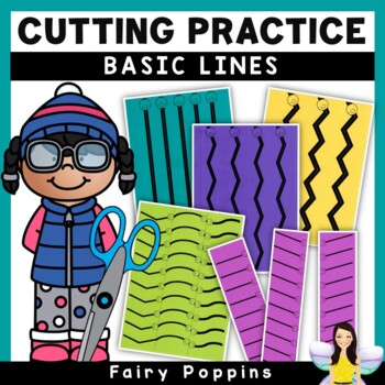 Cutting Practice Worksheets - Basic Lines