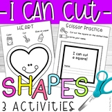 Fine Motor Activity Cutting Practice with Shapes
