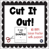 Cutting Shapes Scissor Practice