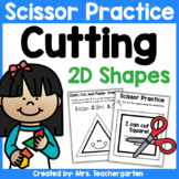 Cutting Shapes - Scissor Practice