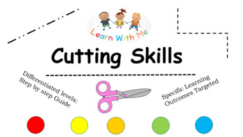 Cutting Skills: Step By Step levels (Differentiated)