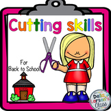 Cutting Skills for Back to School {NO PREP}