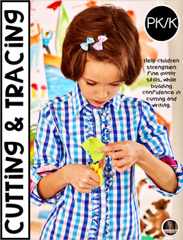 Cutting and Tracing Printables for Preschool and Kindergarten