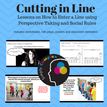 Cutting in Line; Teaching Kids Expected Line Behavior