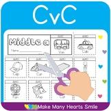 CvC One Page Flip Books     MMHS17