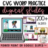 CvC Practice Bundle   Digital Slides   Spring