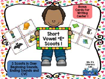 """Short Vowel """"e"""" (CvC)"""