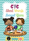 CvC Short Vowels Board Games