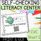 CVC Word Family Printable Centers | Short I Word Families