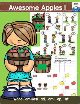 Short A Word Families (Apples)