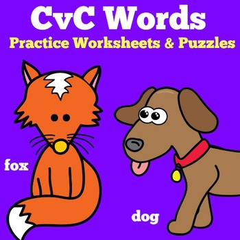 CVC Words Worksheets