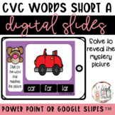 CvC Words Short A   Digital Slides   Spring