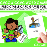 CvCC Game Caught!  CvCC and CCvC Word Game