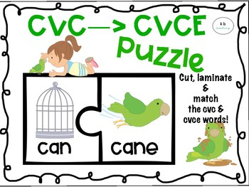 Cvc/Cvce Puzzle Match!