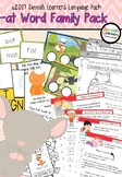 Free! Cvc pack1 -at Word Family Language Pack