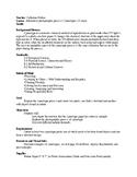 Cyanotype (Sun Prints) Lesson Plan