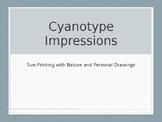 Cyanotype (sun print) PowerPoint
