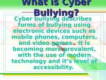 Cyber Bullying Elementary