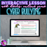 Cyber Bullying Interactive Lesson self-study elearning for distance learning