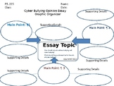 Cyber Bullying Opinion Essay Graphic Organizer