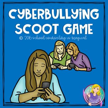 Cyber Bullying Scoot Game (includes posters)