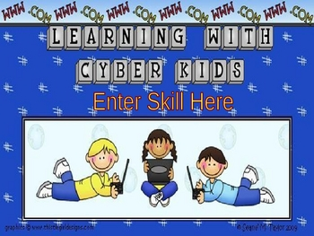 Cyber Kids PowerPoint Game Template