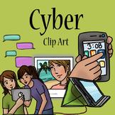 Cyber Media Clip Art