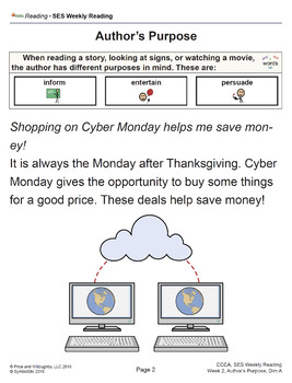SES Weekly Reading: Cyber Monday