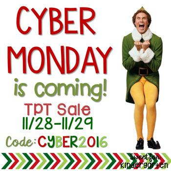 Cyber Monday Sale 2016 Graphic