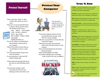 Cyber Safety brochure