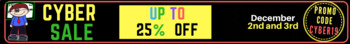 Cyber Sale 2019 Store Banner
