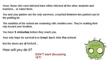 Mini Unit: Cyber Security and ZOMBIES! (critical thinking & extended metaphor)