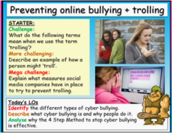 Cyber bullying and e-safety
