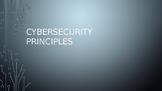 CyberSecurity Principles
