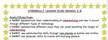 Cyberbully Lesson Plan